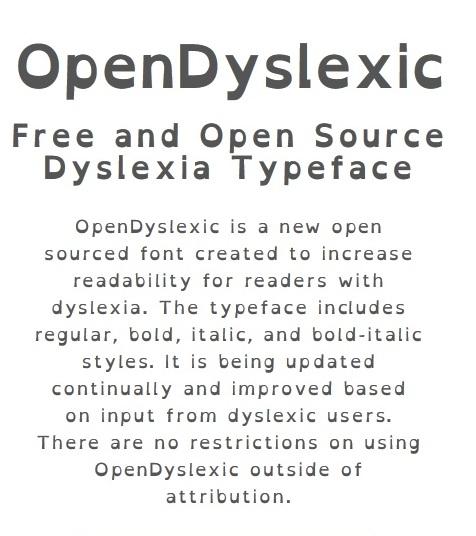 OpenDyslexic (source)